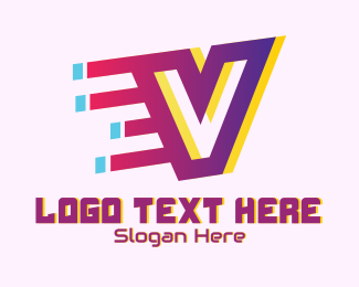 Speedy - Speedy Letter V Motion logo design
