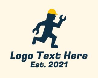 Construction Worker Logo