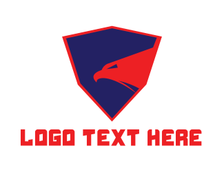 Law Enforcer - Strong Shield Eagle logo design