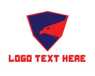 Strong - Strong Shield Eagle logo design