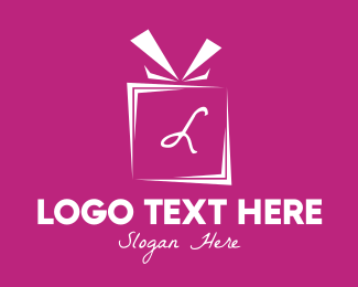 Gift Wrapping - Gift Lettermark logo design
