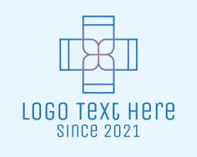 Medical - Minimalist Hospital Cross logo design
