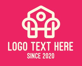 Property - Modern Home Property logo design