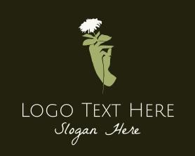 Beauty - Hand Flower Spa logo design