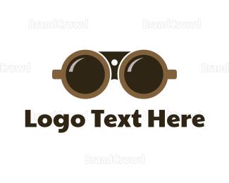 Coffee Mug - Binocular Coffee logo design