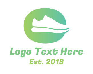 Runner - Running Shoe logo design