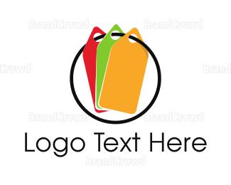 Duty Free - Colorful Tags logo design