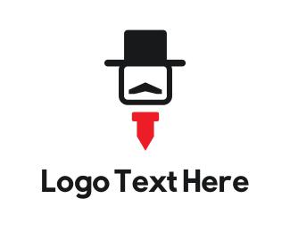 """Hat & Tie"" by AlinDesign"