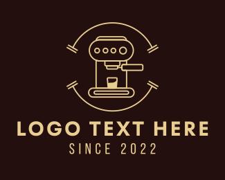 Espresso - Espresso Coffee Machine logo design