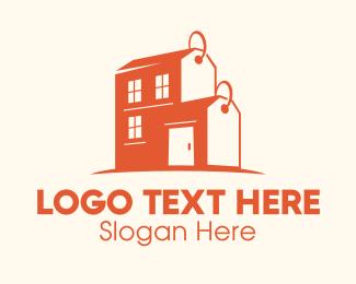 Rental - Real Estate Auction Sale Price logo design