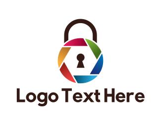 Padlock - Padlock Shutter logo design