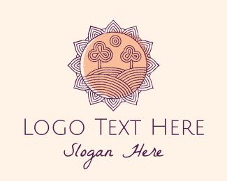 Tattoo - Tree Nature Landscape logo design