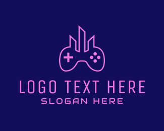 Game - Gaming City  logo design