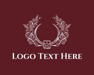 Leaf - Floral Emblem logo design