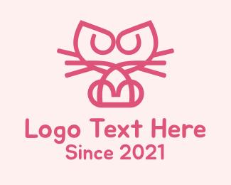 Domestic - Kitty Katy logo design