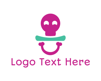 Bone - Bone Pacifier logo design