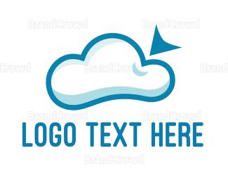 Saas - Online Cloud  logo design