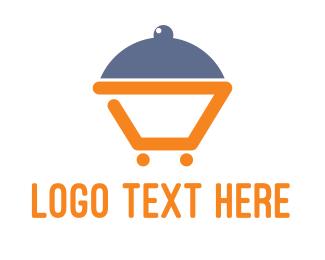Booking - Abstract Dinner Cart logo design