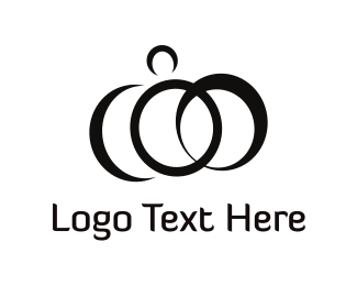 Prince - Abstract Rings logo design