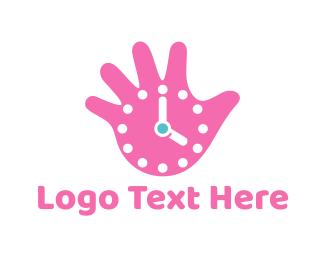 Minute - Hand Watch logo design