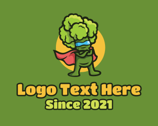 Broccoli - Super Broccoli logo design