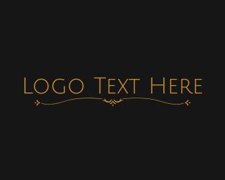 Legend - Simple Ornamental Wordmark logo design