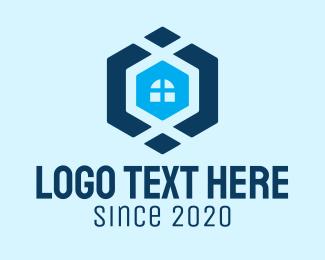 Realtor - Blue House Realtor logo design