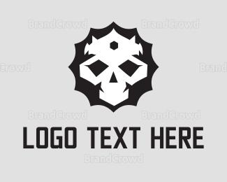 King - King Skull logo design