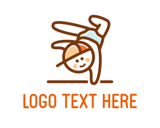 Smiling - Little Boy logo design
