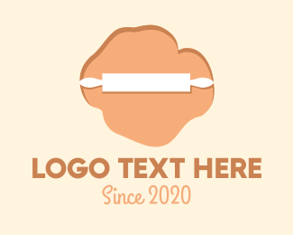 Baked Goods - Bakery Rolling Pin logo design