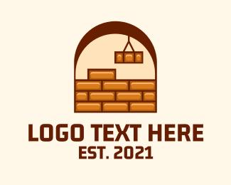 Brick - Brick Wall Design logo design