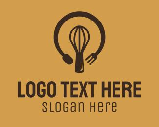 Idea - Bakeshop Lightbulb Idea logo design