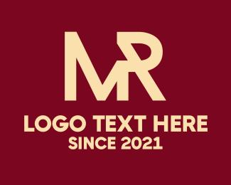 Tm - Business Monogram M & R logo design