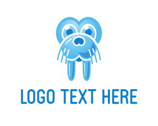 Seal - Blue Walrus logo design