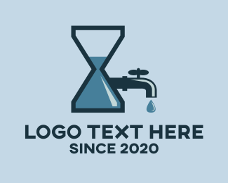 Timeless - Plumbing Time logo design