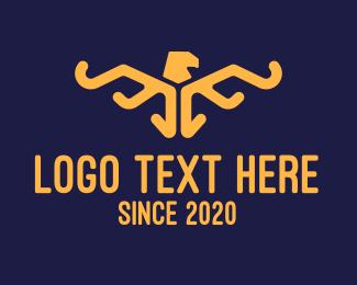 Creature - Egpytian Eagle logo design