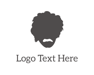 Guy - Einstein Silhouette logo design