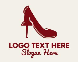 Footwear - Tack Shoe logo design