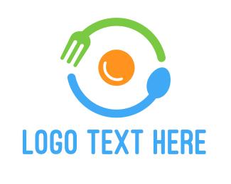 Eating - Breakfast Egg logo design