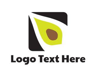Avocado Flower Logo