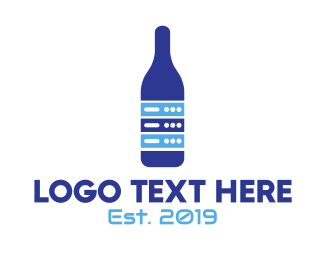 Geek - Geek Bar Drink logo design