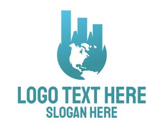 Graphic - Financial World logo design