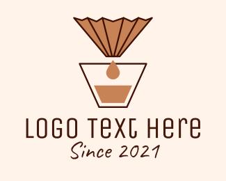 Coffee Filter - Brewed Coffee Filter  logo design