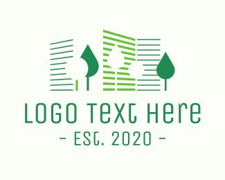 Condo - Green Eco City Park logo design
