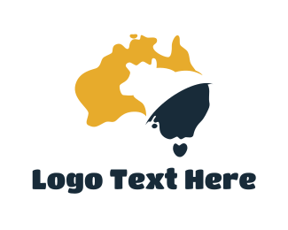 Melbourne - Australia Livestock Dairy logo design