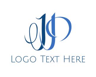 Elegant J & P Logo