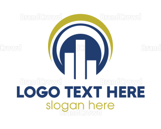 Table - Elegant Round Stats logo design