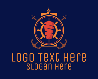 Kebab - Nautical Kebab logo design