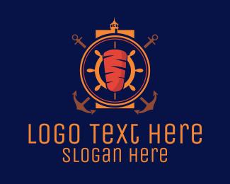 Anchor - Nautical Kebab logo design