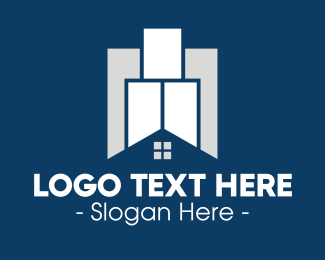 Property - Property Tower logo design